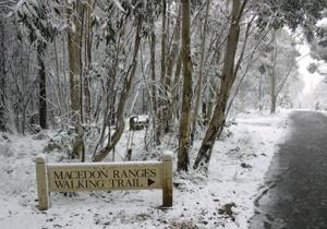 Winter at the Macedon Ranges....
