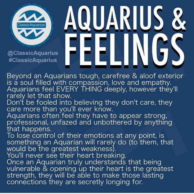 When a aquarius man likes you
