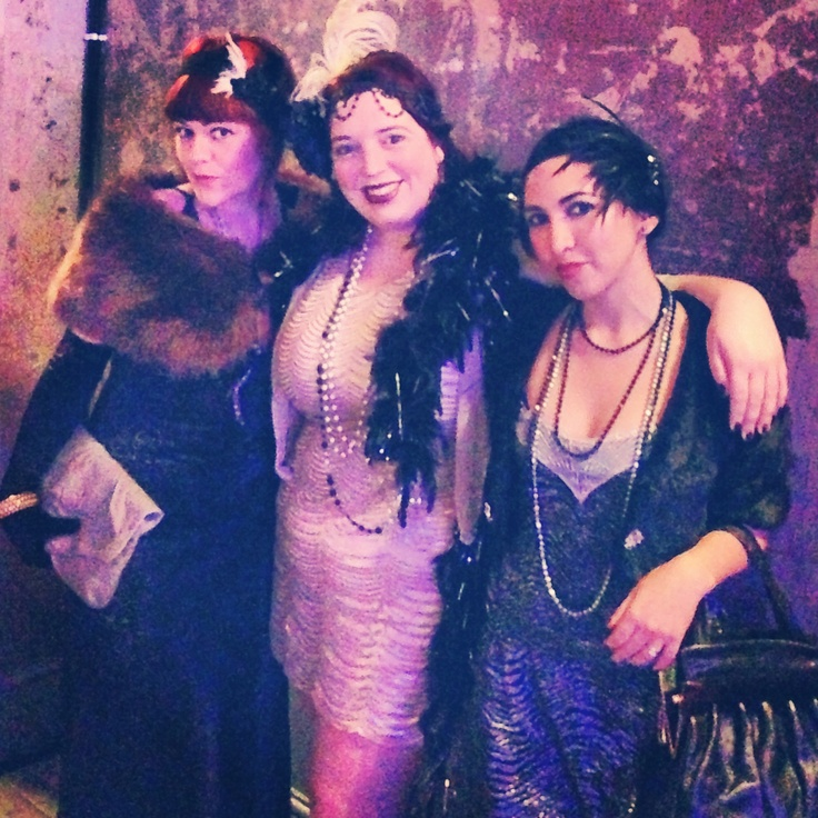 At The Great Gatsby at WIlton's Music Hall
