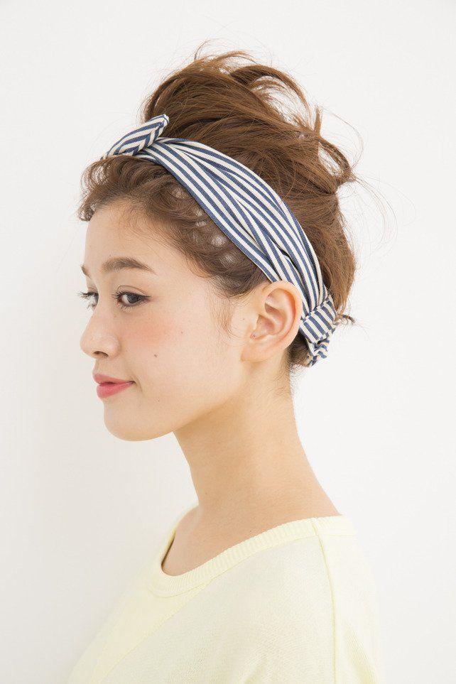 ショートでもできる!すっきりカチューシャアップヘア☆ ジムに行く時のヘアスタイル 髪型・アレンジ・カットの参考に♪