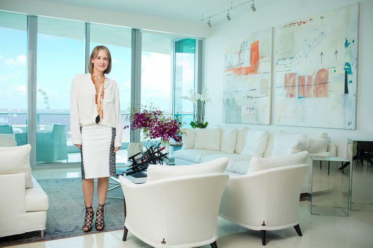 Silvia Tcherassi style - white and black look - home decor - casual chic