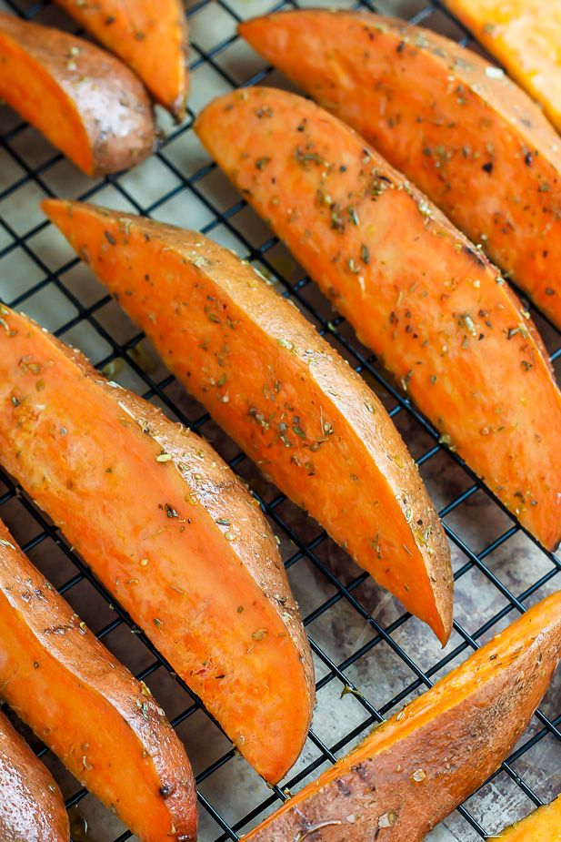 Sweet Potato Wedges Oven on Pinterest | Potato wedges oven, Potato ...