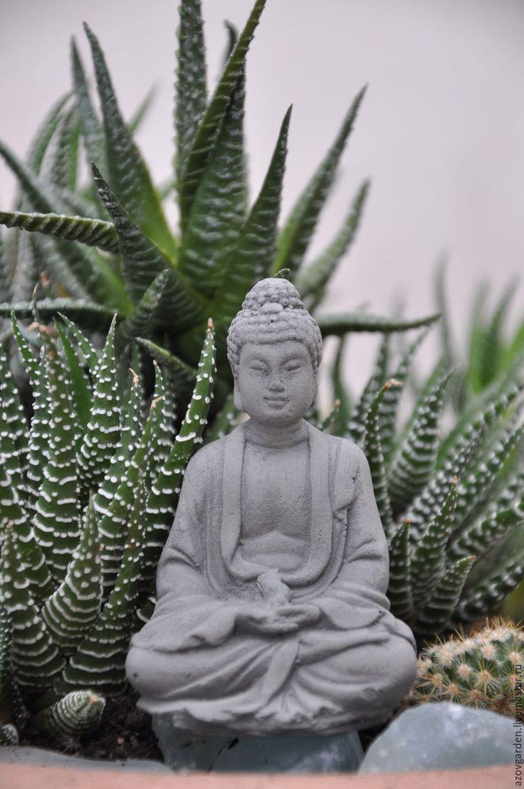 Купить Мини-фигурка Будды из бетона для флоррариума и террариума - фигурка…