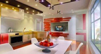 modern kitchen interior design ideas 2016 - kitchen ceiling