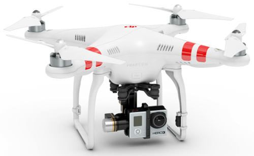 DJI Phantom Drone with a GoPro 2