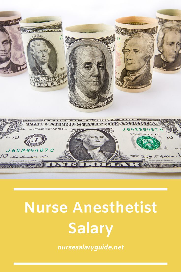 CRNA Salary Nurse Anesthetist wages and employment info