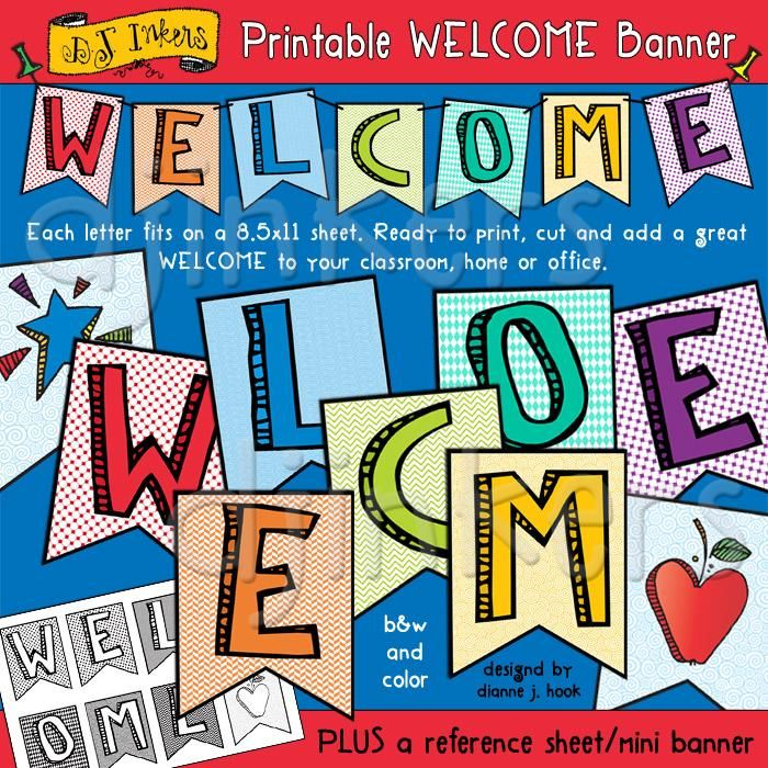 Printable Welcome Home Sign: Best 25+ Welcome Banner Printable Ideas On Pinterest