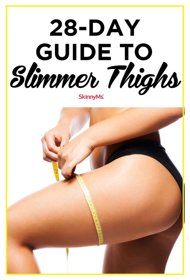 28-Day Guide to Slimmer Thighs