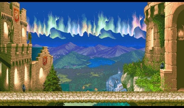 Cammy's stage from Super Street Fighter 2 reimagined for Street Fighter 5