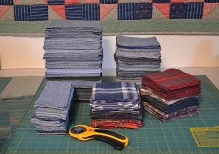 Great Tips for making a Jean Quilt TUTORIALR - ecycle Jeans to Make a Quilt    ~Sewinpeace.blogspot.com