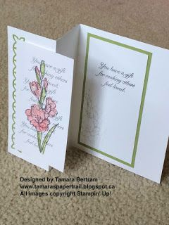 Tamara's Paper Trail: Gift of Love Z-Fold Card