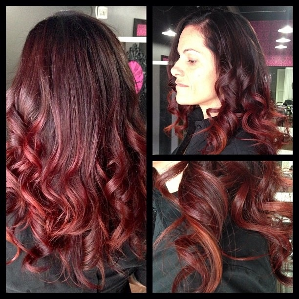 Plum Ombre | Hair | Pinterest | Dark, Nice and Colors