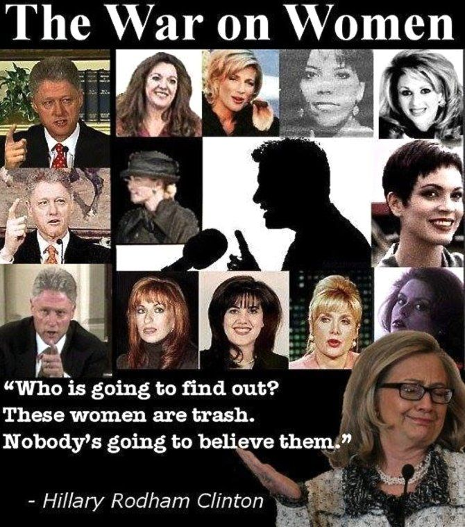 "RNR Montana (@RNRMontana) | Twitter...#HillaryClintonSearchTerms ""Enabler"" Hillary is NO champion of women She enabled Bill to become a sexual predator"