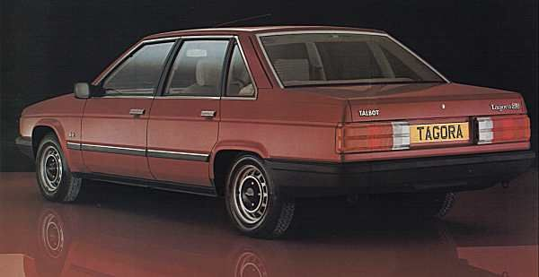 1982 Talbot Tagora. Not satisfied with the Sunbeam, Horizon, Alpine and Solara, Talbot announced this as their range topper. Now, come on, have you ever seen anything so ugly and pointless?