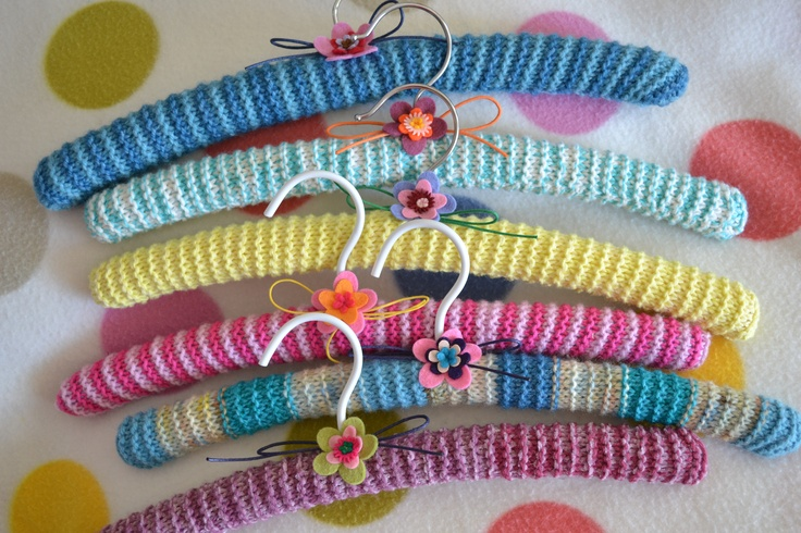 knitted coathangers