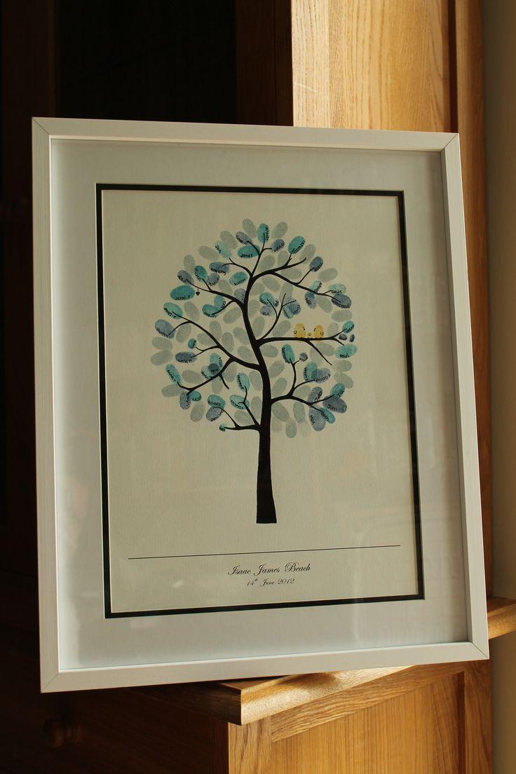 Isaac's Fingerprint Tree