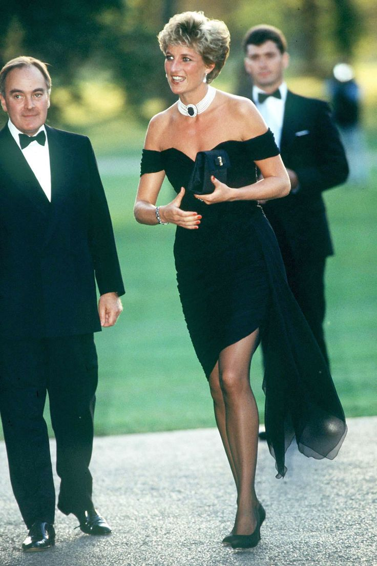 The Evolution of the Little Black Dress - Lady D,