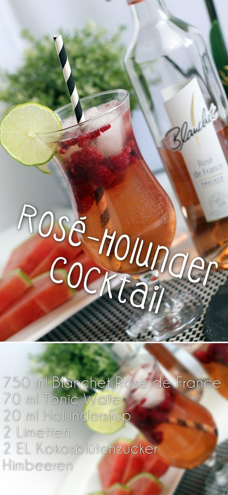 Rezept | Rosé-Holunder Cocktail - hydrogenperoxid.net