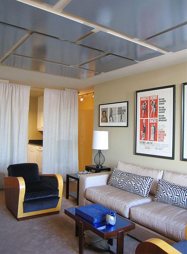 Living Room in New York, NY by Dale Cohen Designstudio