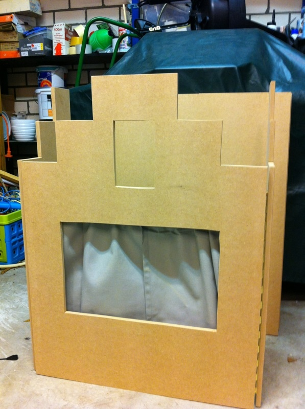 Poppenkast bouwen