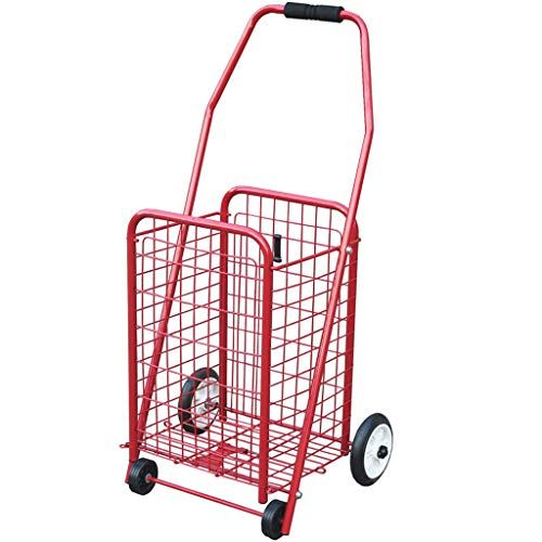 59f748fc18f0 KTYX Portable Folding Iron Pull Cart Does Not Rust and Sturdy ...