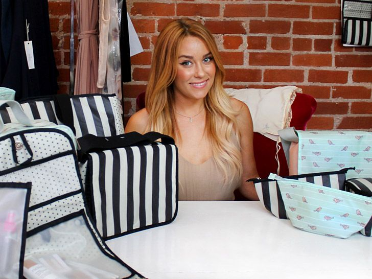 Former reality star Lauren Conrad has a line of cosmetics bags and lunch totes made from recycled plastic bottles.