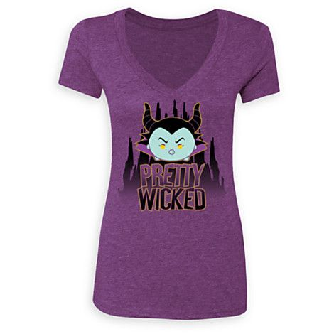 Maleficent ''Tsum Tsum'' Tee for Women - Limited Release | Disney Store