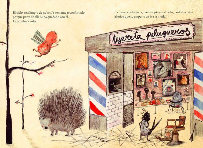 PROYECTOS Postgrado Ilustración Infantil Eina (2012) - Manuel Marsol