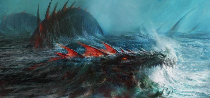 Sea Dragon by Manzanedo.deviantart.com on @DeviantArt