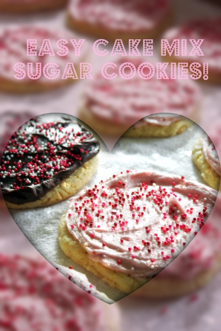 Sugar cookie recipes with cake mix