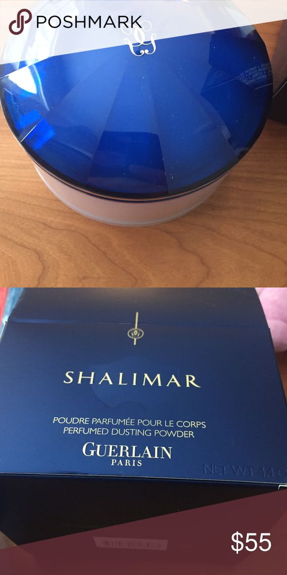 Shalimar dusting powder Never opened! NET WT. 4.4 oz guerlain Makeup