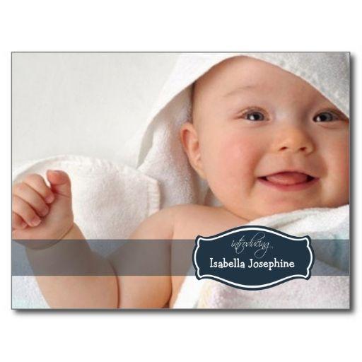 newborn baby postcards