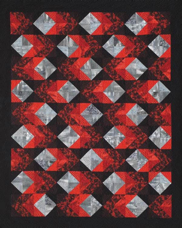 393 best NEWSPAPER QUILTS images on Pinterest | Patterns, Projects ... : quilt patterns squares only - Adamdwight.com