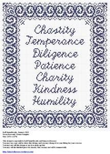 The Seven Heavenly Virtues...do you beleive in ......