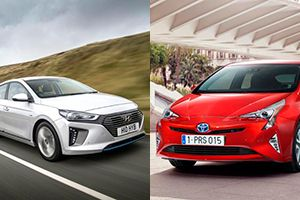 Is the Hyundai Ioniq hybrid better than the Prius? The Ioniq wins on price and boot size. October 2016.