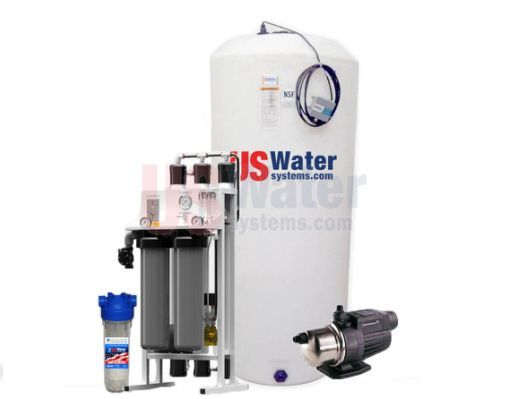 US Water Professional Grade Whole House Reverse Osmosis System for 4-6 people. US Water Systems ($7555 with 10% discount). May need additional filters for silt.