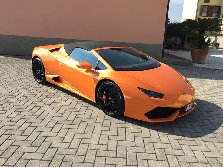 #Lamborghini #Huracan #Spyder  Available for rent in #Italy