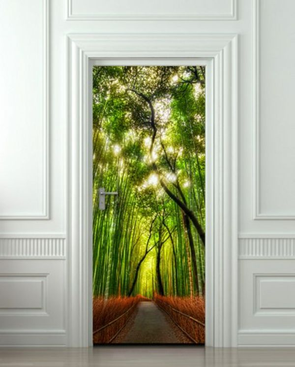 25 best ideas about trompe l oeil porte on pinterest for Porte exterieur de jardin