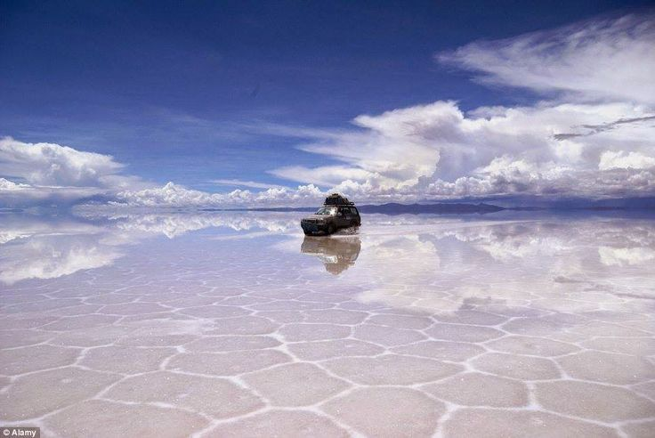 8. Sky on earth – Uyuni salt flats, Bolivia