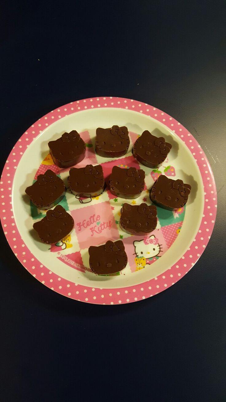 Hello Kitty's mini chocolates