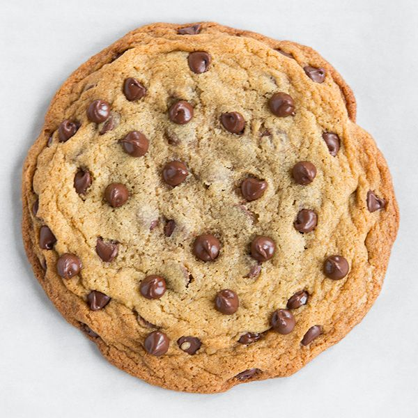 ONE Single or Double Serve Chocolate Chip Cookie - no mixer required and only 5 minutes prep!