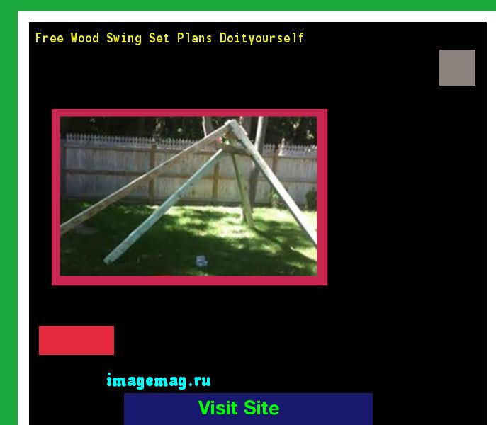 Free Wood Swing Set Plans Doityourself 172144 - The Best Image Search