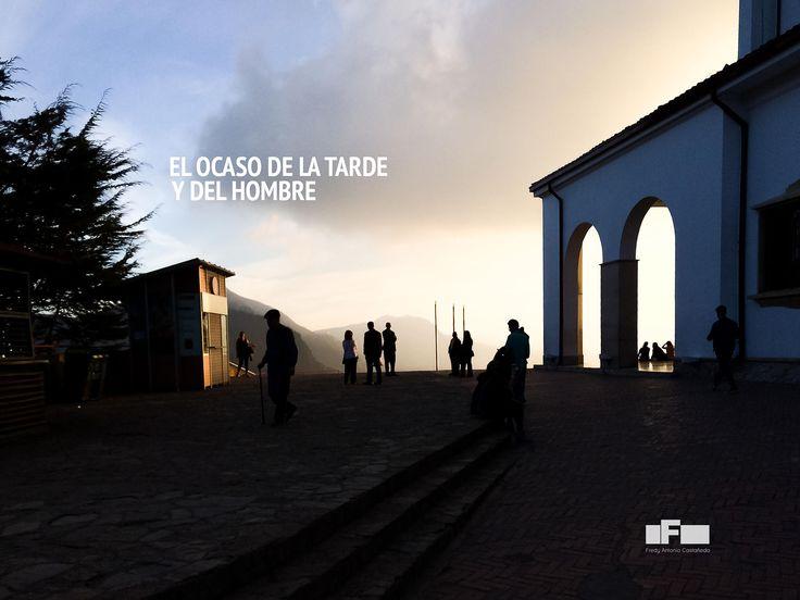 Los Ocasos - Monserrate - Bogotá - Colombia - Fredy Castañeda - iPhone