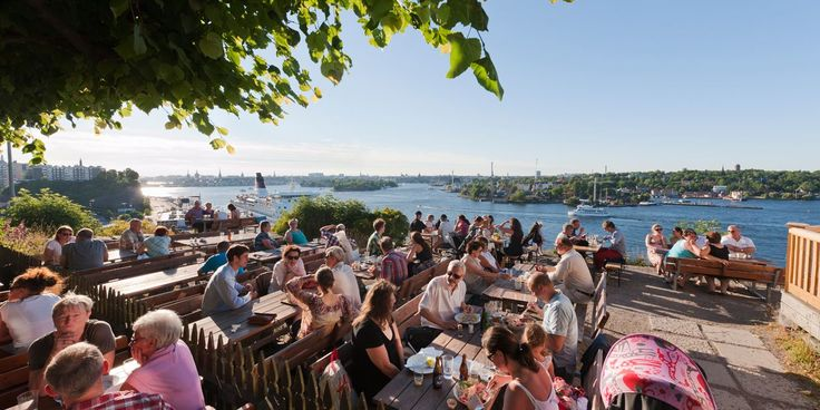 Fåfängan utsiktspunkt Stockholm