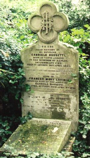 LONDON, ENGLAND l Christina Rossetti, noted 19th century poet and sister of the artist Dante Gabriel Rossetti, is buried in Highgate Cemetery, London.