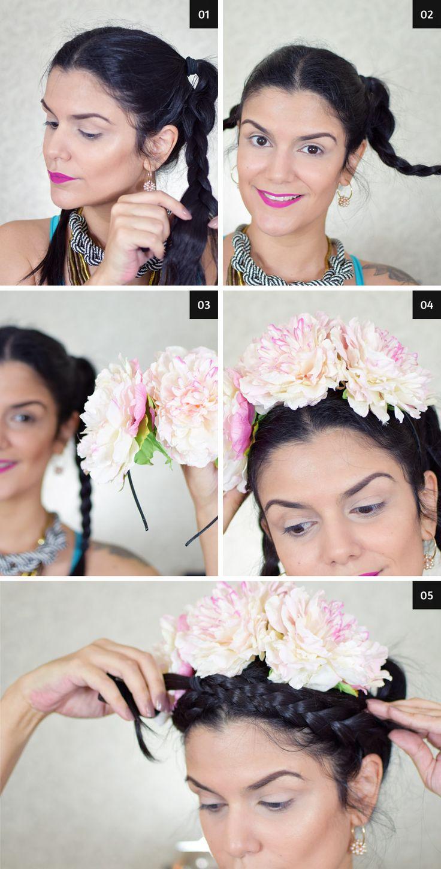Les 145 meilleures images du tableau carnaval sur pinterest d guisements activit s et - Deguisement frida kahlo ...