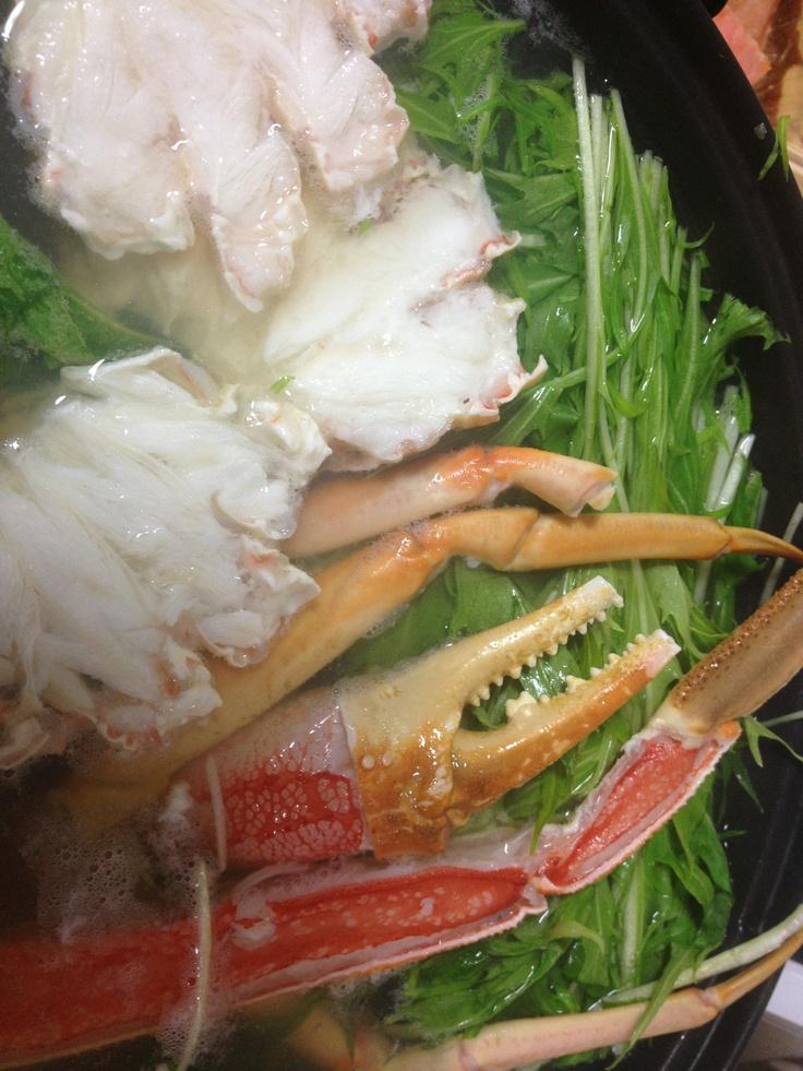 Kani Shyabu  -Crab shabu shabu