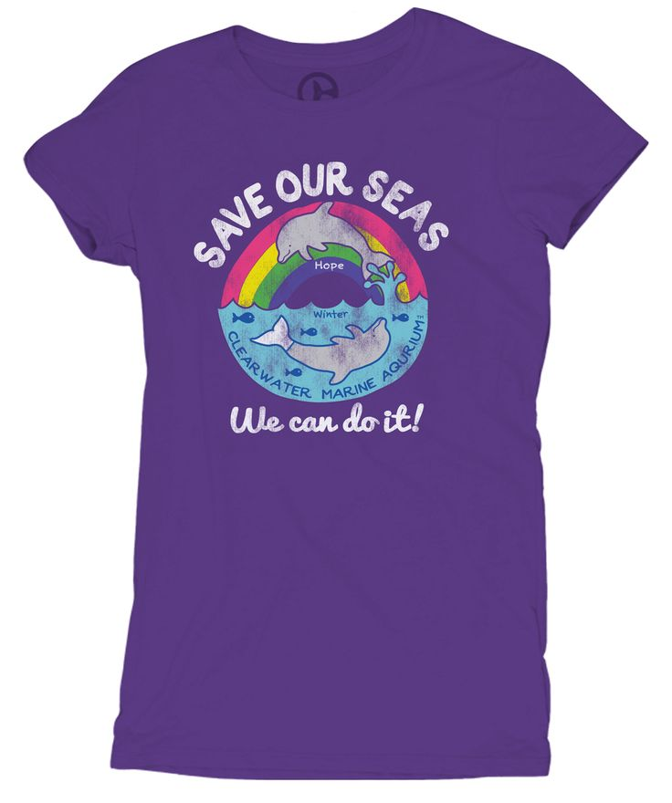 SeeWinter Store - Save Our Seas Girl's Tee, $21.99 (http://cmastore.seewinter.com/save-our-seas-girls-tee/)