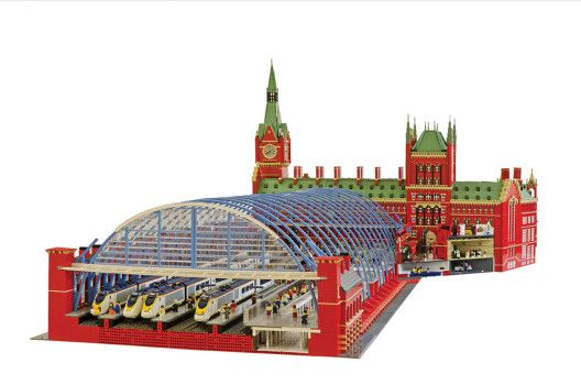 St Pancras © Warren Elsmore... Warren will be at the show with some amazing Fan builds!