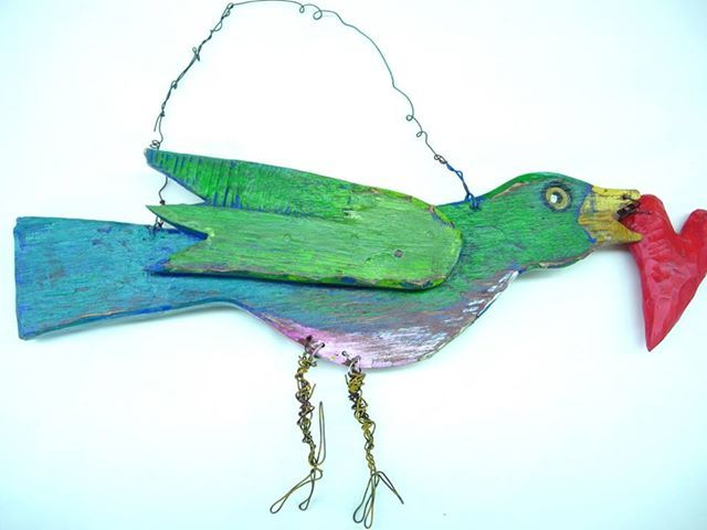 jim lambert folk art: Birds Art, Lambert Folk, Google Search, Art Birds, Birds Watchers, Art Hobos Tramp Art, Art Attack, Folk Arti Parties, Art Projects 3D Sculpture
